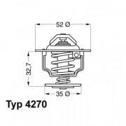 Термостат WAHLER 4270.88D