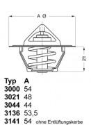 Термостат WAHLER 3136.88D50
