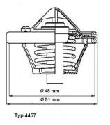 Термостат WAHLER 4457.82D