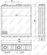 Радиатор печки NRF 52098