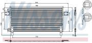 Радіатор кондиціонера NISSENS 94681