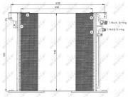 Радиатор кондиционера NRF 35305