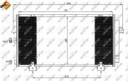 Радиатор кондиционера NRF 35381