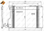 Радиатор кондиционера NRF 35578