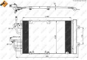 Радиатор кондиционера NRF 35633