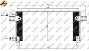 Радиатор кондиционера NRF 35620