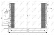 Радиатор кондиционера NRF 35771