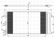 Радиатор кондиционера NRF 35752