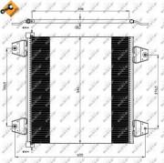 Радиатор кондиционера NRF 35757