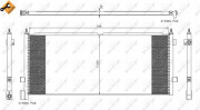 Радиатор кондиционера NRF 35891
