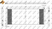 Радиатор кондиционера NRF 35892