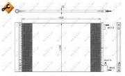 Радиатор кондиционера NRF 35912