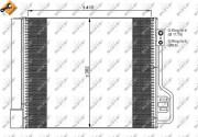 Радиатор кондиционера NRF 35937