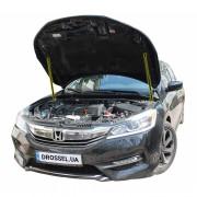 Амортизаторы капота (газовые упоры капота) Euro-Upor EU-HO-ACC-09R-2 для Honda Accord 9 rest (2015-2017) 2шт