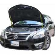 Амортизаторы капота (газовые упоры капота) Euro-Upor EU-NI-ALT-05-02 для Nissan Altima 5 (2012-2015) 2шт