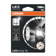 Светодиодная (LED) лампа Osram LEDriving SL 6413DWP-01B (C5W) 6000K 41 mm