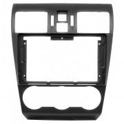 Переходная рамка Carav 22-932 для Subaru Forester, Impreza, Levorg, WRX, Crosstrek, XV, 2DIN / 9'