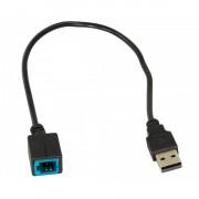 Адаптер штатных USB-разъемов ACV 44-1173-002 для Mazda 6 (2015-2018), CX-9 (2013-2019)