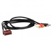 Адаптер штатных USB / AUX-разъемов ACV 44-1140-005 для Hyundai Elantra, Genesis Coupe, Sonata (YF), Santa Fe (CM), Tucson (LM),
