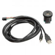 Адаптер штатных USB / AUX-разъемов ACV 44-1213-001 для Nissan