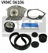 Комплект ГРМ с помпой SKF VKMC 06106