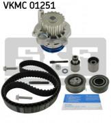 Комплект ГРМ с помпой SKF VKMC 01251