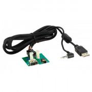 Адаптер штатных USB / AUX-разъемов ACV 44-1180-002 для Kia Carens, Picanto, Rio (UB), Sportage (SL), Sorento (JC), Venga (YN)