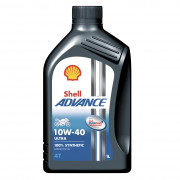 Мотоциклетное моторное масло Shell Advance 4T Ultra 10W-40