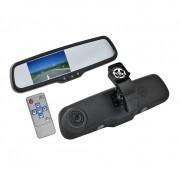 Зеркало заднего вида с монитором и видеорегистратором Swat VDR-HY-21