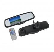 Зеркало заднего вида с монитором и видеорегистратором Swat VDR-VW-12