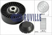 Ролик натяжителя ремня (паразитный, ведущий) RUVILLE 55847