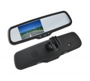 Зеркало заднего вида с монитором Swat VDR-FR-27