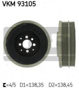Ременный шкив SKF VKM 93105