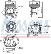 Клапан ЕГР NISSENS 98173