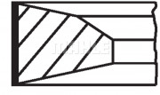 Поршневые кольца MAHLE 209 RS 10100 0N0