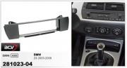 Переходная рамка ACV 281023-04 для BMW Z4 Roadster (E85), Coupe (E86), 1DIN