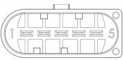 Расходомер воздуха (ДМРВ) EPBMFN5-D002H NGK 91692