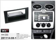 Переходная рамка ACV 281114-08-1 для Ford Focus, C-Max, Kuga, Fiesta, Fusion, Transit, S-MAX, Galaxy, 2DIN / 1DIN