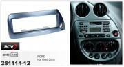Переходная рамка ACV 281114-12 для Ford Ka 1996-2008, 1DIN