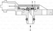 Датчик давления выхлопных газов BOSCH 0281002772