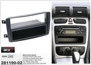 Переходная рамка ACV 281190-02 для Mercedes-Benz C-класса, CLK-класса, G-класса, Vito, Viano, 2DIN / 1DIN
