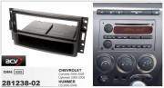 Переходная рамка ACV 281238-02 для Hummer H3 / Chevrolet Corvette, Uplander (2005-2008), 1DIN