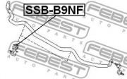 Втулка стабілізатора FEBEST SSB-B9NF