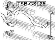 Втулка стабилизатора FEBEST TSB-GSL25