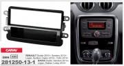 Переходная рамка ACV 281250-13-1 для Renault Duster, Sandero, Logan, Symbol, Captur, Trafic / Dacia, 1DIN