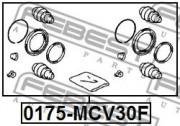 Ремкомплект суппорта FEBEST 0175-MCV30F