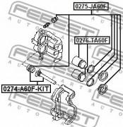 Ремкомплект супорта FEBEST 0274-A60F-KIT