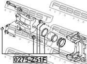 Ремкомплект суппорта FEBEST 0275-Z51F