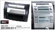 Переходная рамка ACV 281300-21-1 для Toyota Corolla Verso (E12) 2004-2009, 2DIN / 1DIN