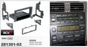 Переходная рамка ACV 281301-02 для Lexus GS300, GS400 (1997-2005), 1DIN